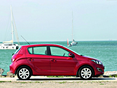 Mietwagen Hyundai I20 Diesel in Antalya City
