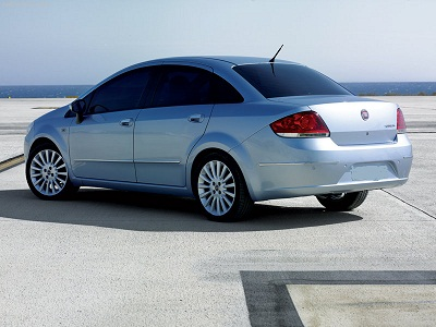 Mietwagen Fiat Linea Diesel in Antalya City